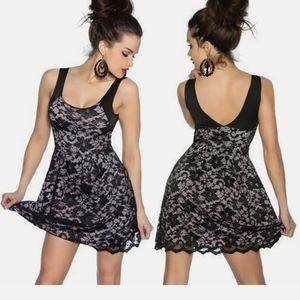 F.I.T  Little Black dress size medium